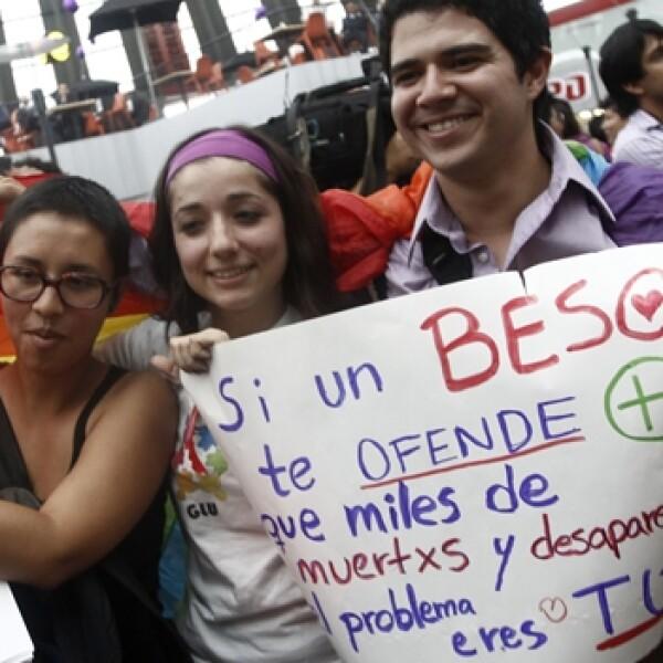 besaton, tapo, protesta contra la homofobia