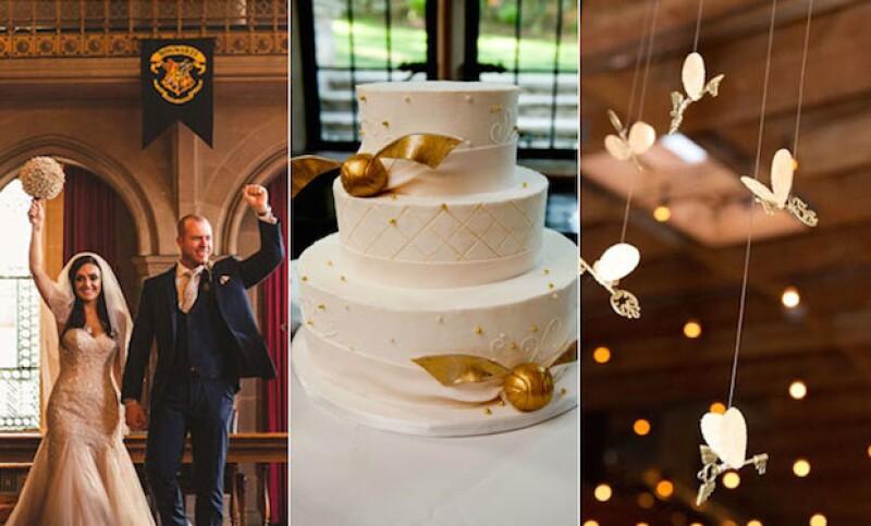 Harry Potter se ha convertido en una gran inspiración para las bodas millenials.