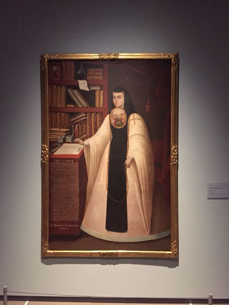 Sor Juana Inés de la Cruz, deJuan de Miranda