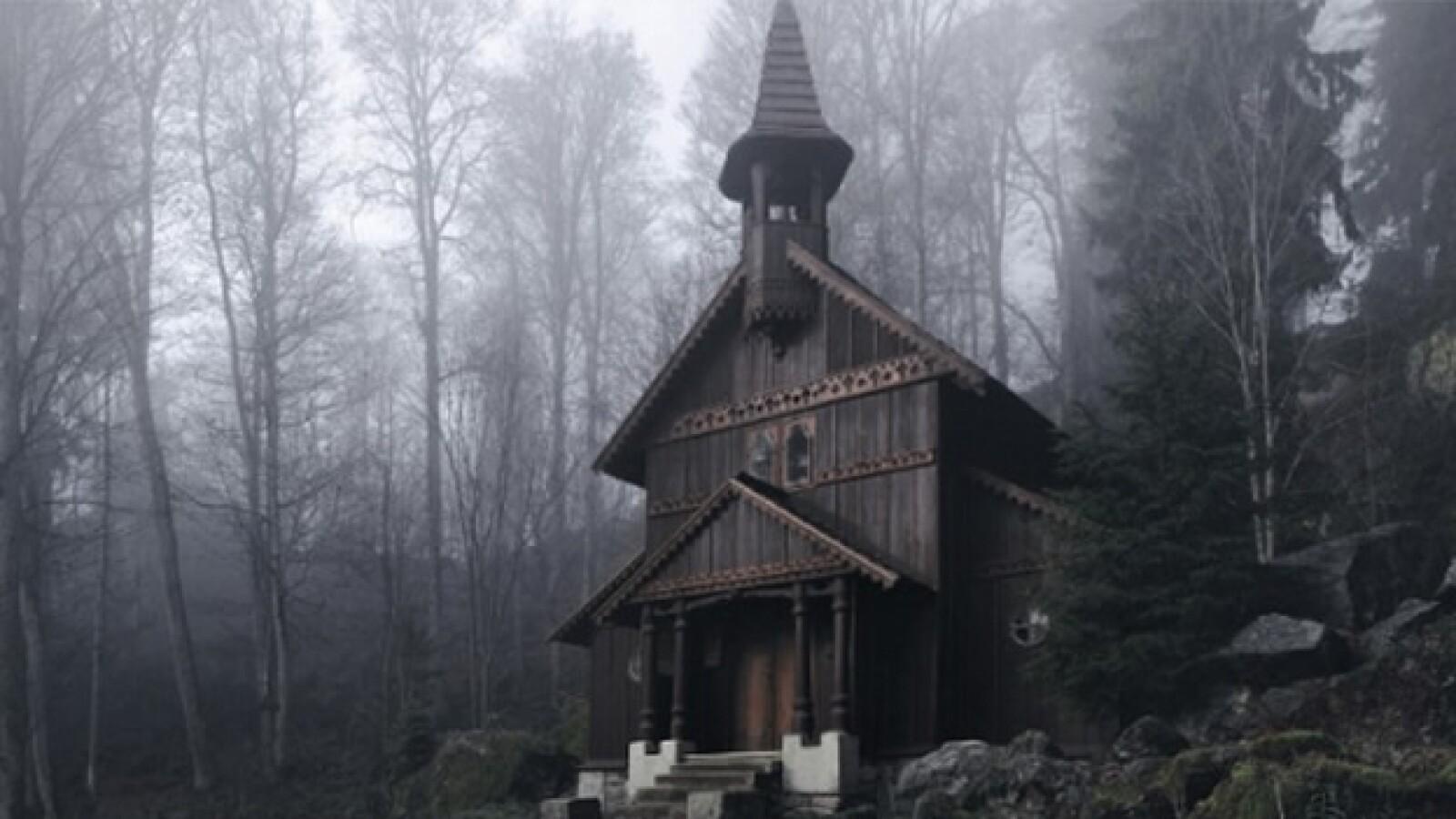 La Capilla en el Bosque Bohemio de la República Checa