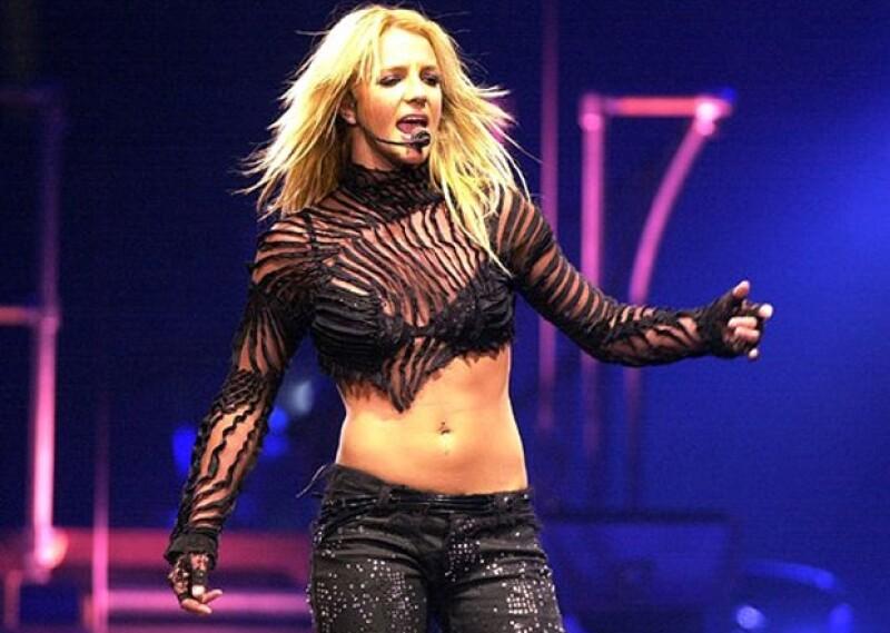La cantante lucía espectacular en 2002.