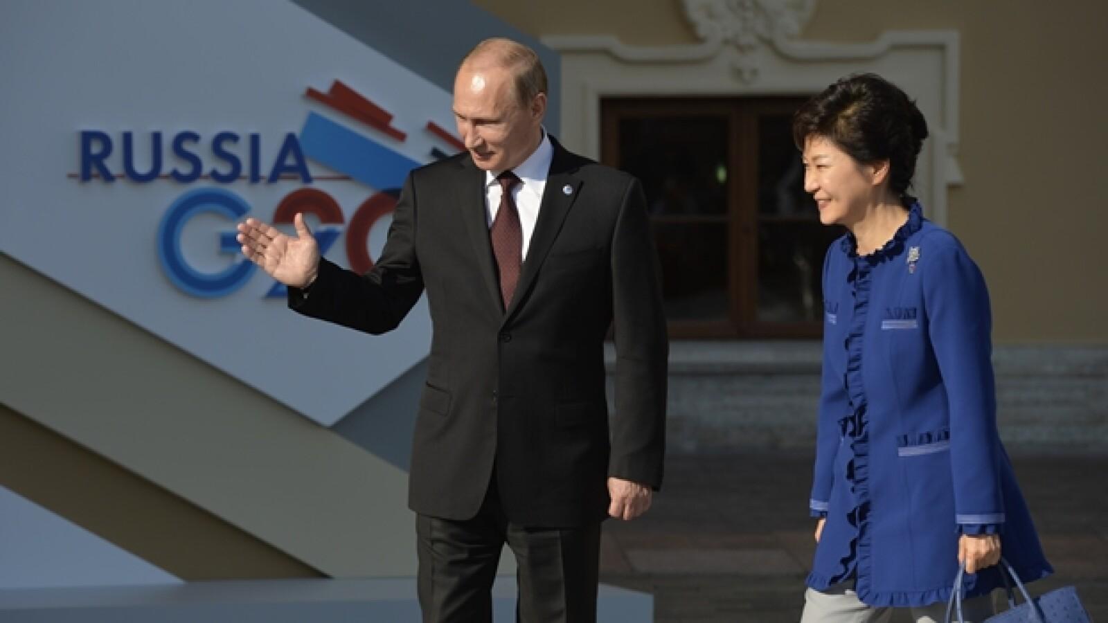 presidenta de corea del sur Park Geun-Hye