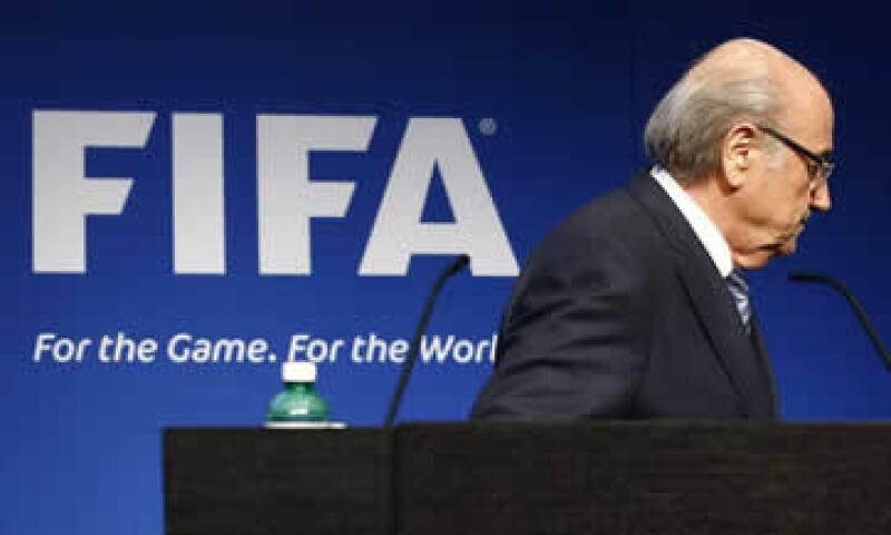 Blatter anunció su dimisión la pasada semana. (Foto: Reuters )