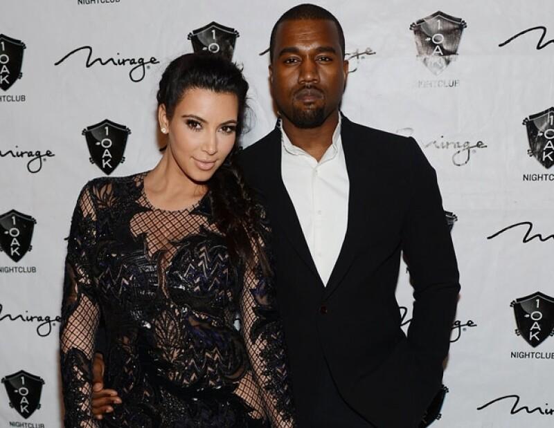 Fue en el programa de Jimmy Kimmel donde la empresaria confesó que tanto ella como Kanye han decidido no mostrar a su primogénito en el show.