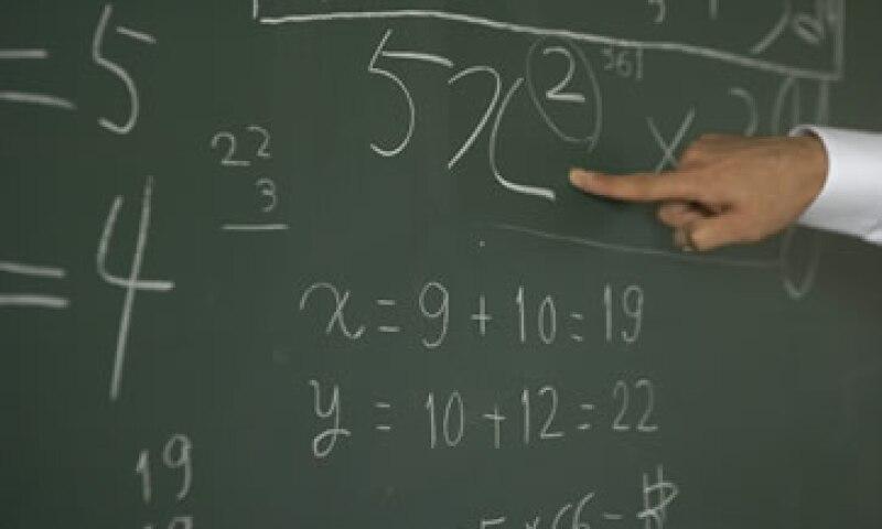 Muchas personas escogen una licenciatura que no lleva números. (Foto: Getty Images)