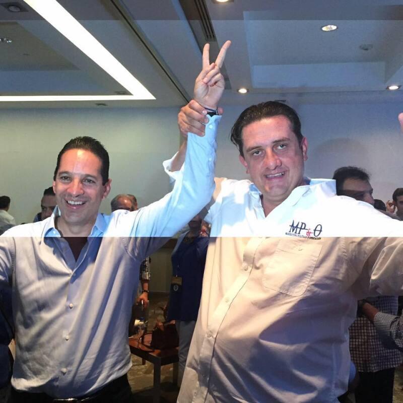 'Pancho' Domínguez ganó la elección de 2015 para renovar el Gobierno de Querétaro, con Pedro García como coordinador de la campaña del PAN.