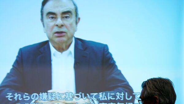 "Ghosn acusa a ejecutivos de Nissan de tramar un ""complot"" en su contra"