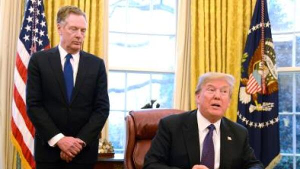 Donald Trump Robert Lighthizer