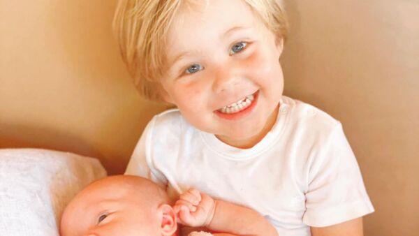 Manu y Emiliano, hijos de Anahí