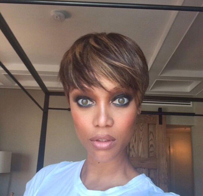 Si creíamos que la topmodel había probado con todos los estilos posibles durante su carrera, este fin de semana comprobó que aún le faltaba uno para sorprendernos: el pixie haircut.