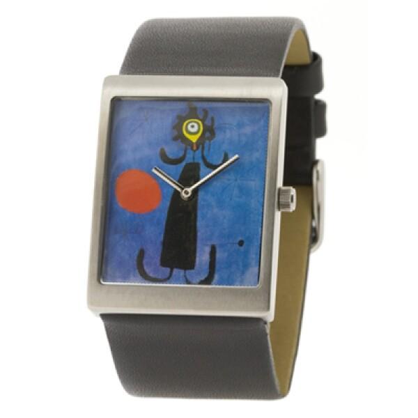 Watchelona lanza una serie de relojes con imágenes del artista español Joan Miró.