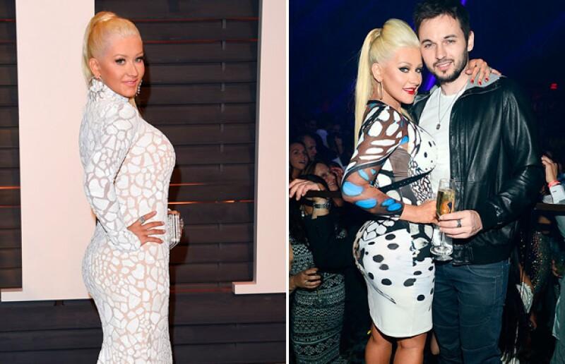 El antes y después de Cristina Aguilera.