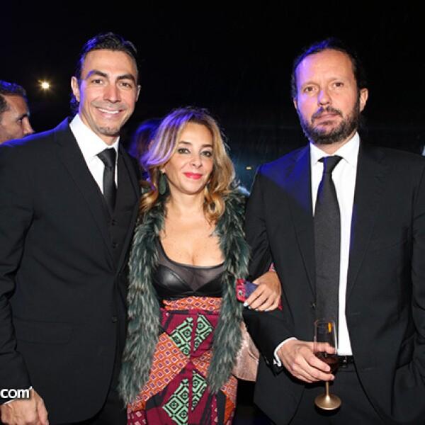 Miguel Álvarez, Luisa Serna y Eduardo Prieto