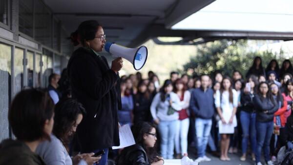 Acoso en la UNAM