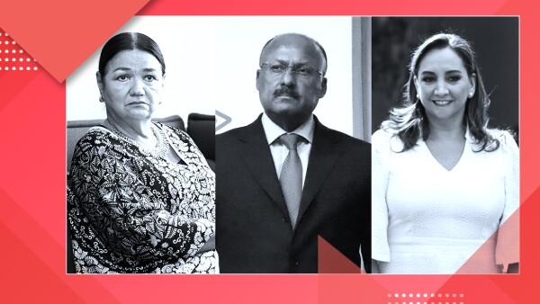 Tres visiones del próximo dirigente del PRI.