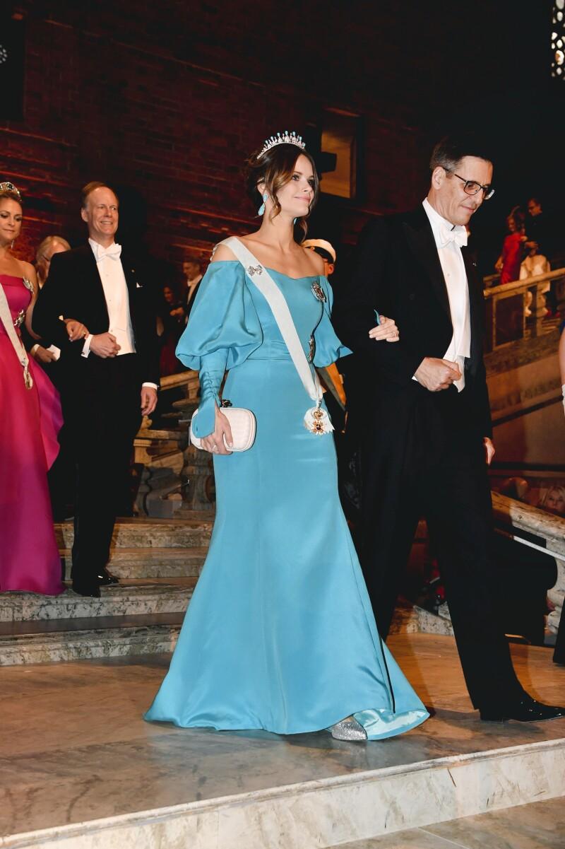 Princesa Sofía de Suecia y Didier Queloz