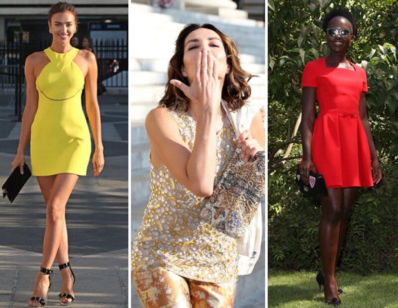A esta temporada de Haute Couture  hemos visto a Irina Shayk, Naty Abascal, y Lupita Nyongo asistir a las pasarelas.