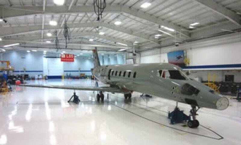El recorte de personal obedece a la baja demanda del Learjet 85.(Foto: Tomada del sitio web de Bombardier)