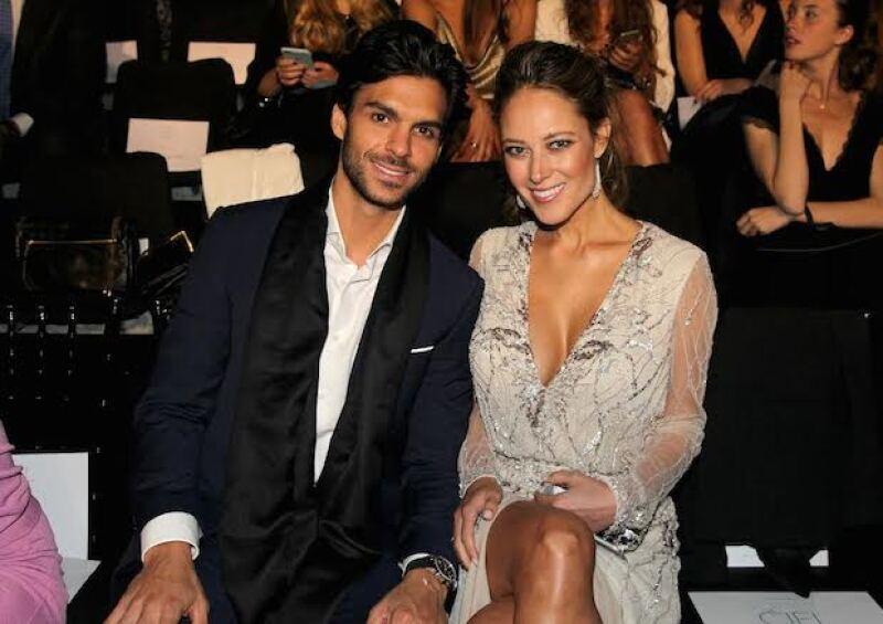 Vanessa Huppenkothen y su novio Javier Martínez llevan más de 8 meses juntos.