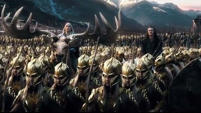 Un grupo de elfos, humanos y enanos lucharán contra los orcos en Tierra Media