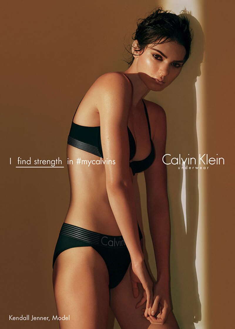 Kendall repite como imagen de Calvin Klein.