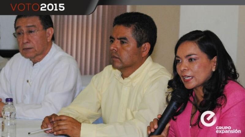 candidata del prd al gobierno de Guerrero