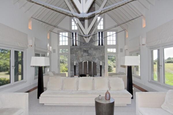 Sala de la lujosa residencia