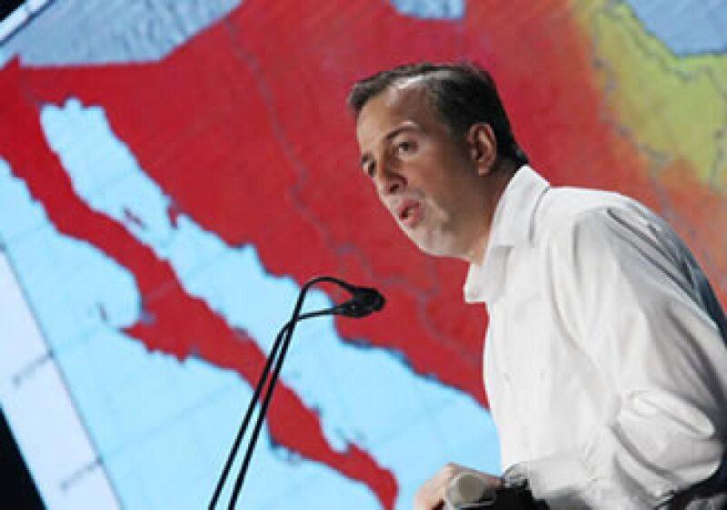 El titular de Energía fue citado a comparecer luego de que Calderón anunció las reformas a Pemex en su estancia por EU. (Foto: Notimex)