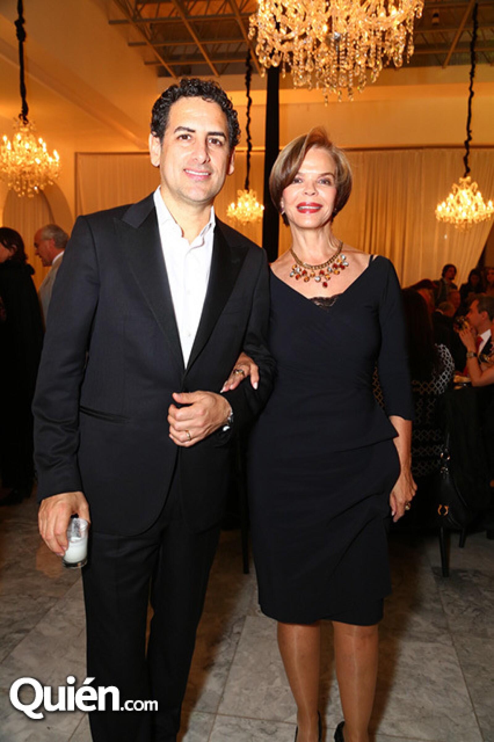 Juan Diego Florez y Ana Luisa Lerdo de Tejada