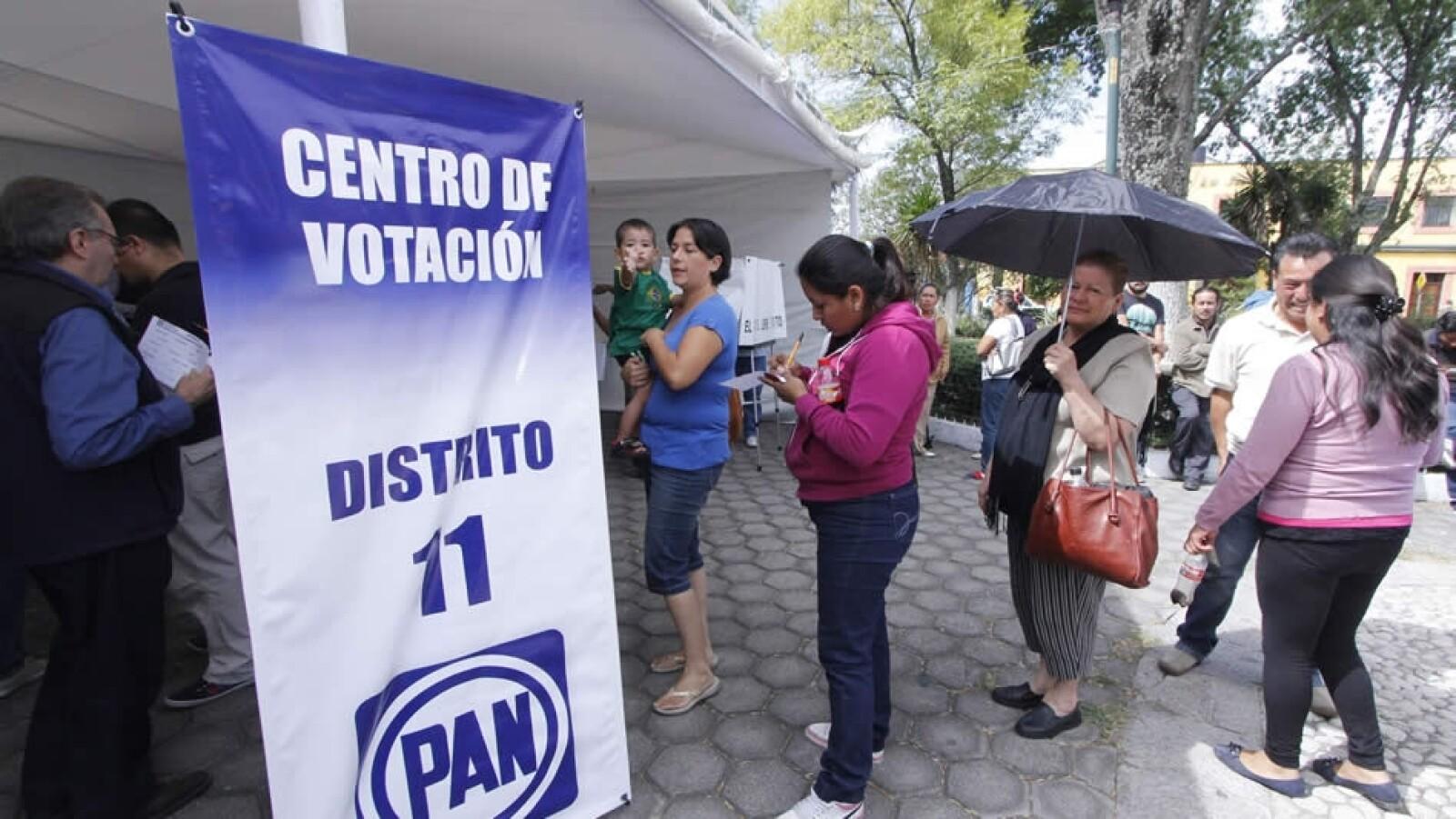 Votación PAN puebla