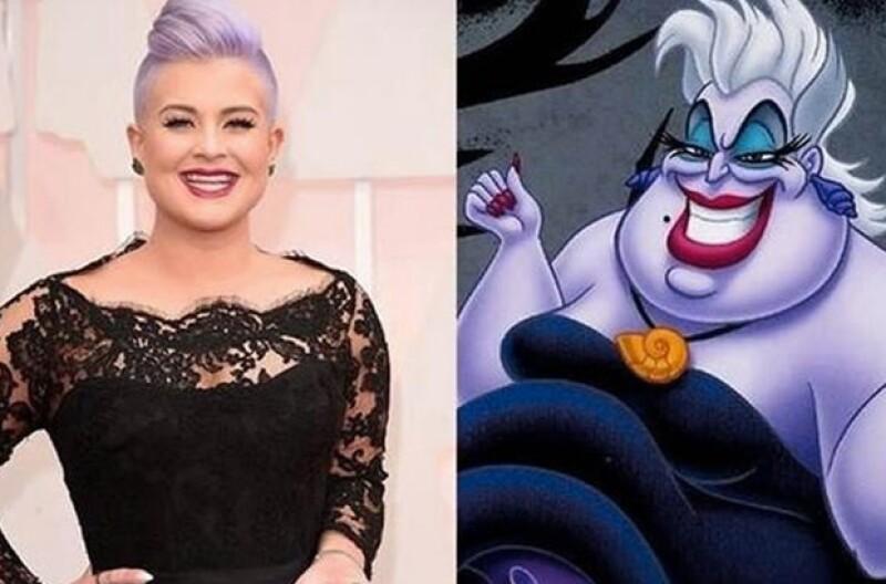 Los usuarios de las redes sociales compararon a Kelly con Ursula.