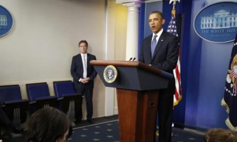 El presidente de EU, Barack Obama, se muestra optimista ante un acuerdo que pueda evitar el abismo fiscal en ese país. (Foto: Reuters)