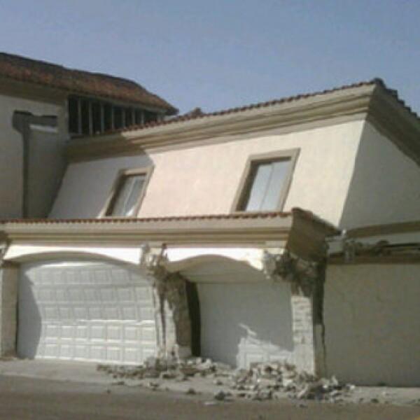 Alrededor de 5,000 familias fueron afectadas por los daños en sus viviendas