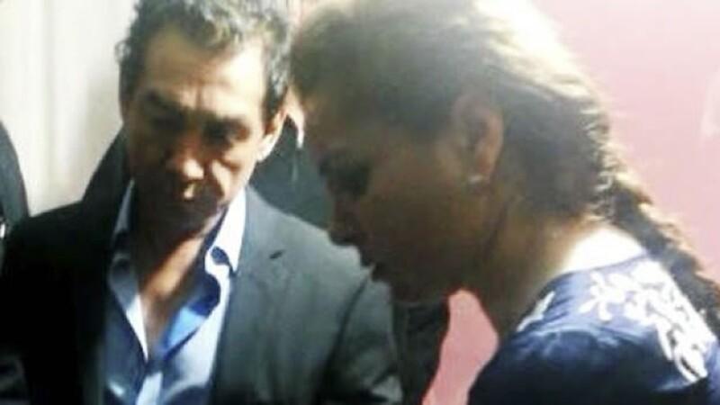 El exalcalde de Iguala José Luis Abarca y su esposa María de los Ángeles Pineda al ser detenidos en la Ciudad de México el pasado 4 de noviembre
