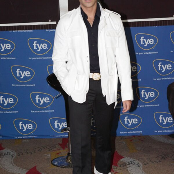En 2007 durante el lanzamiento de su disco `Viento a Favor´.