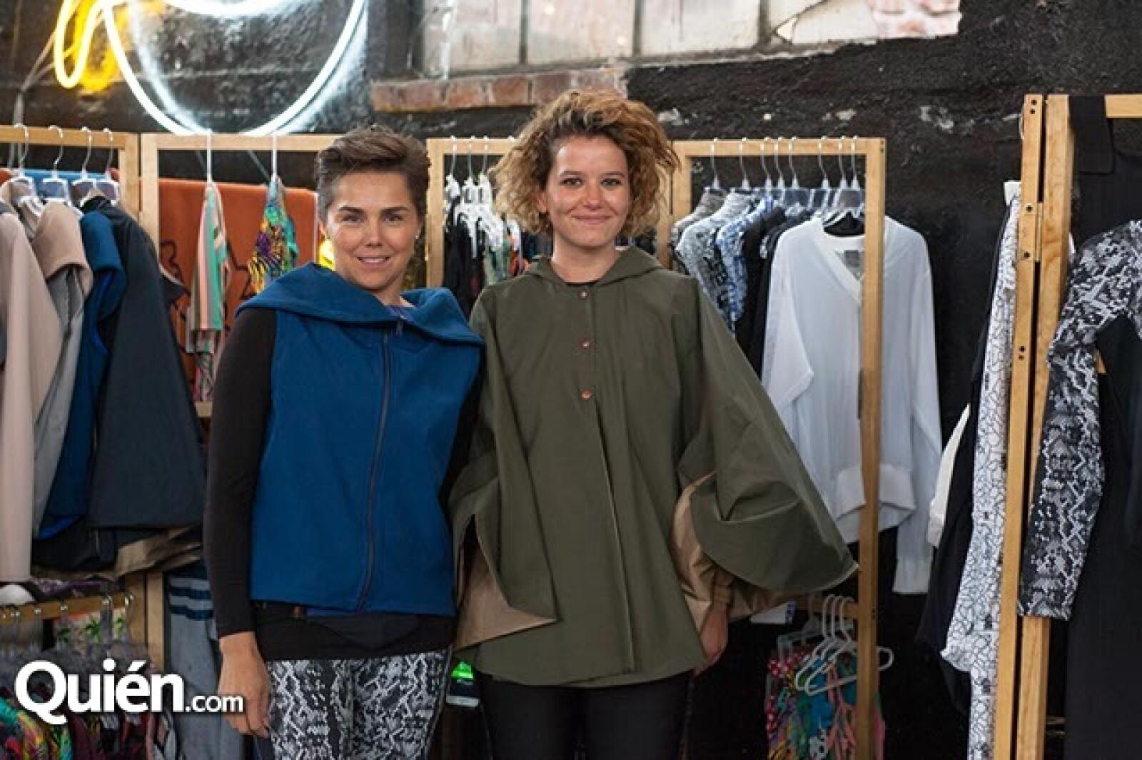 Ingrid Trigo y Mariel Bouffier