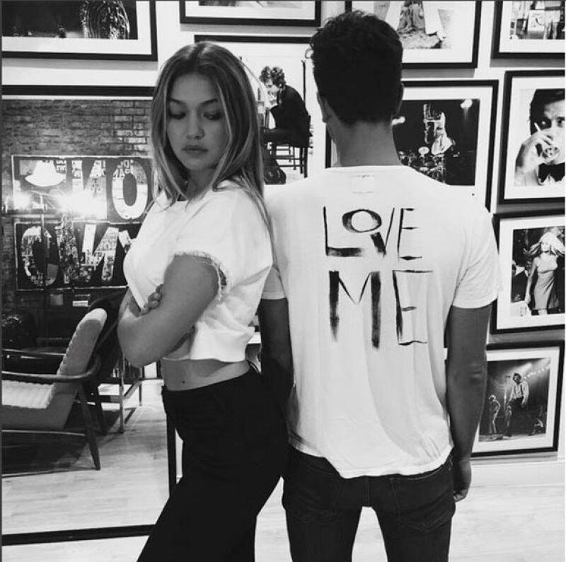 Samuel es gran amigo de Gigi Hadid.