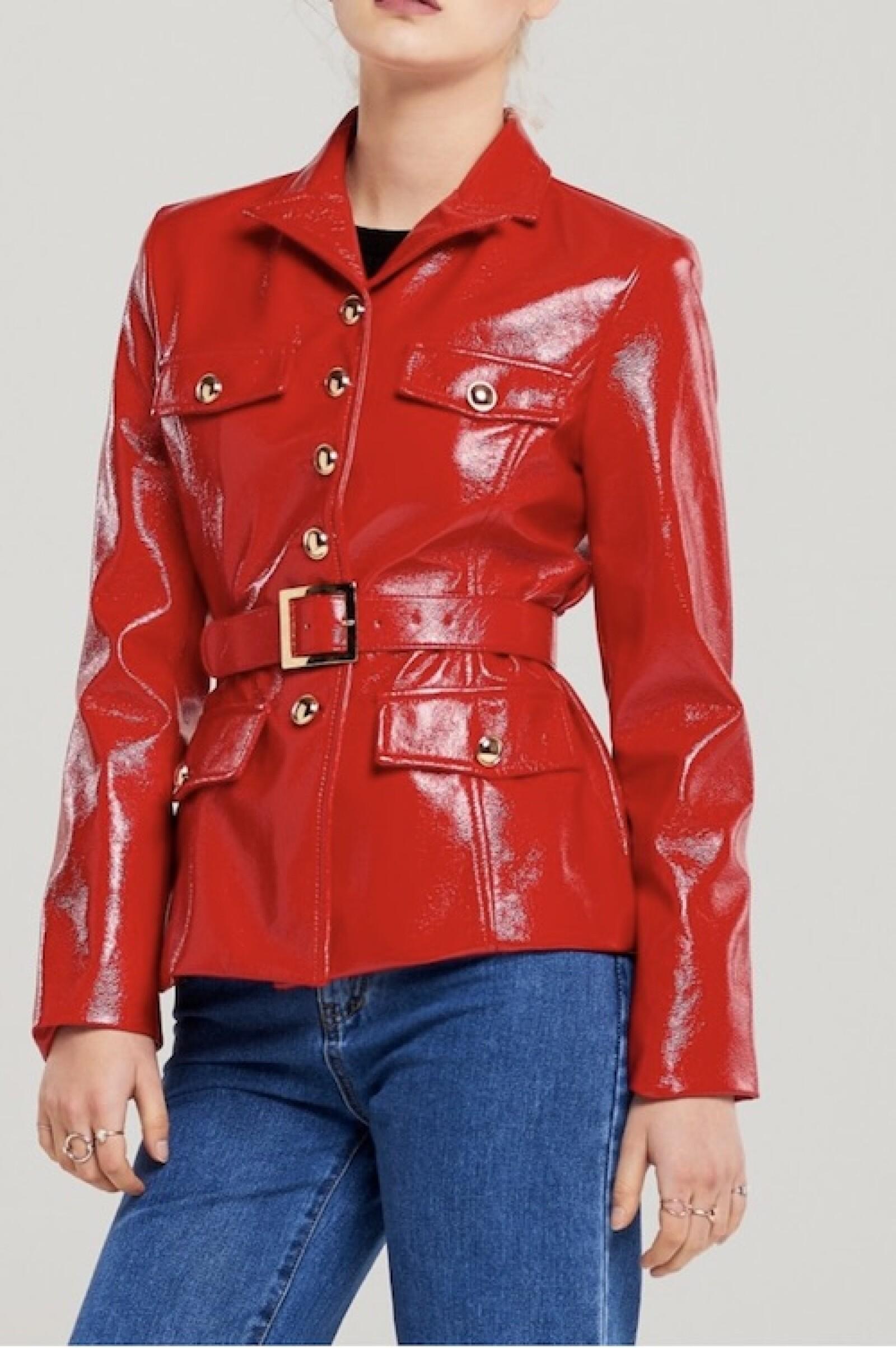 Blair Patent Jacket Storets