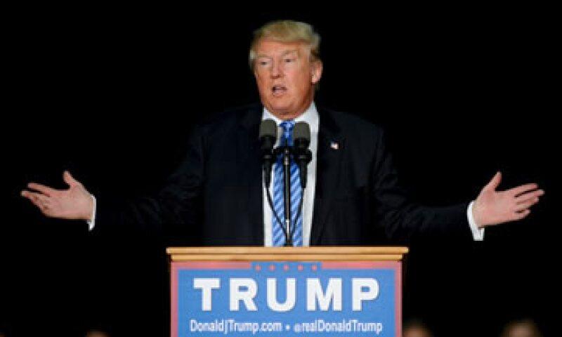 Donald Trump pidió investigar de dónde viene el odio de los musulmanes hacia EU. (Foto: Reuters)
