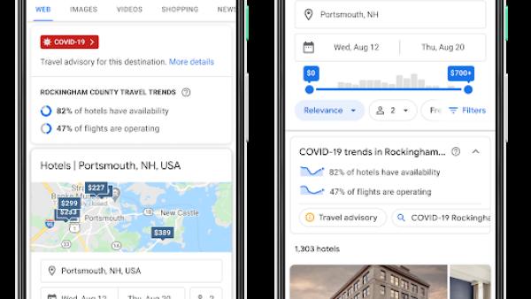 Google y el turismo en el COVID-19.