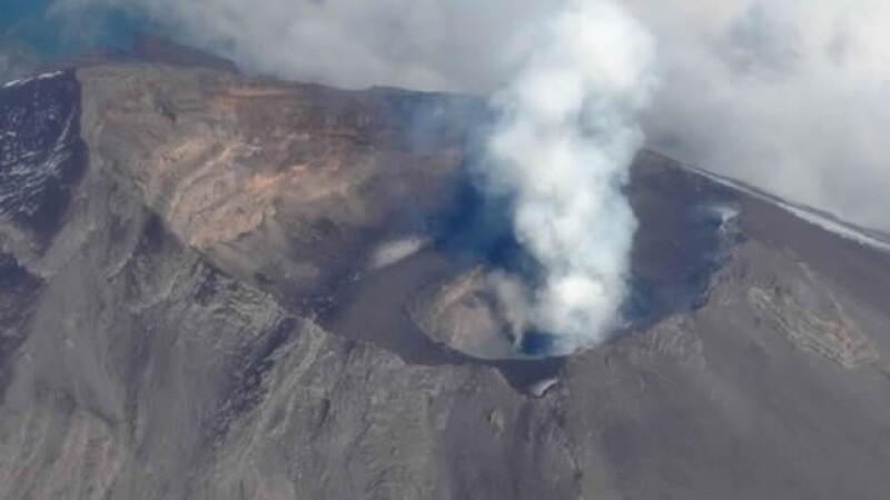 Popocatepetl volcan crater