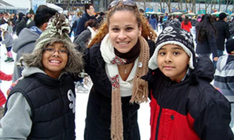 Karina Marcano llegó por primera vez a EU de vacaciones cuando tenía 14 años de edad. (Foto: Tomada de CNNMoney)