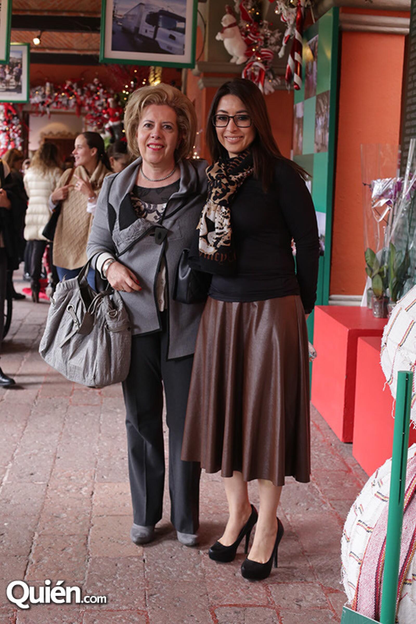 Maruluz Álvarez y Rosario Brindis