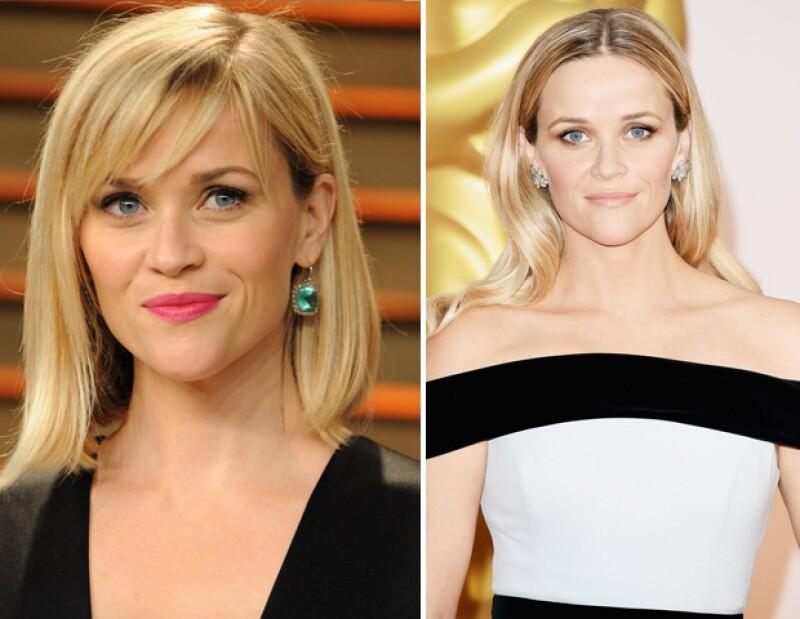 Un lipstick puede hacer la diferencia entre un evento casual y uno de noche como Reese lo hace