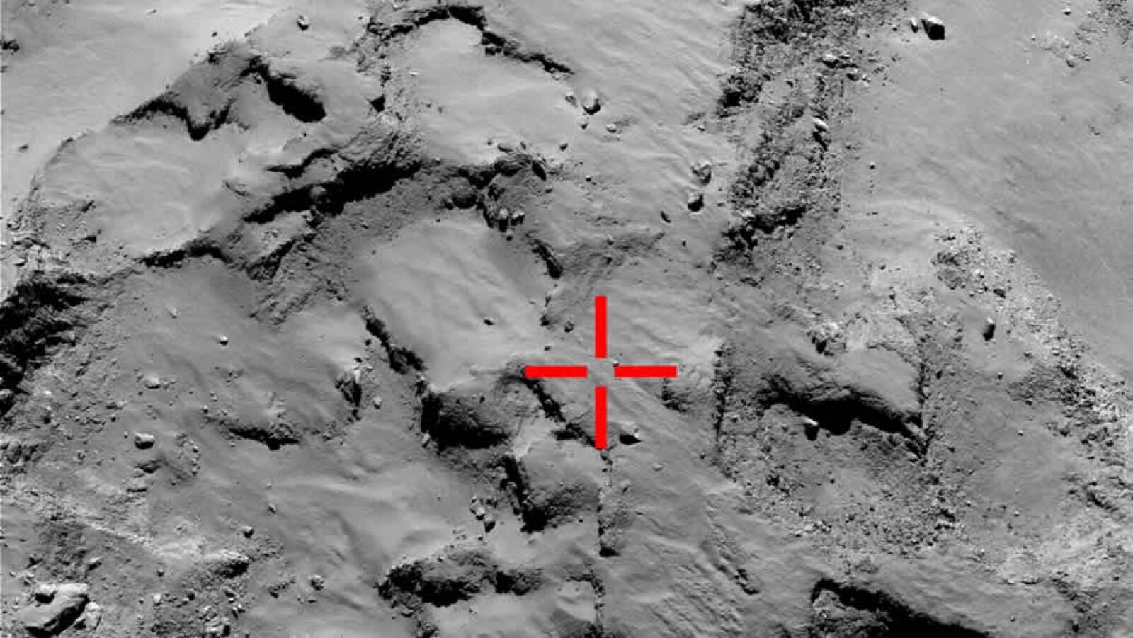 philae aterrizaje cometa