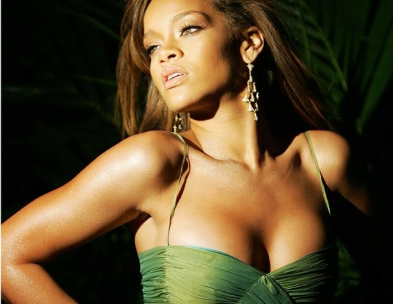 Cuando inició su carrera Rihanna tenía el pelo largo.
