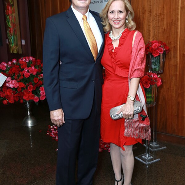 David Fernández y Elisa Sada de Fernández