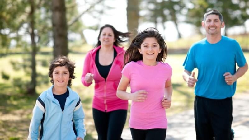 hijos padres ejercicio