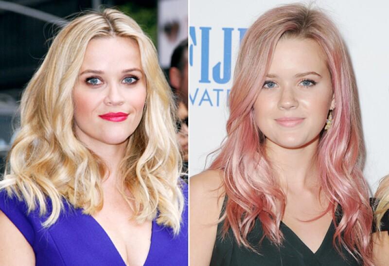 El parecido entre Reese y Ava sorprendió a más de uno.