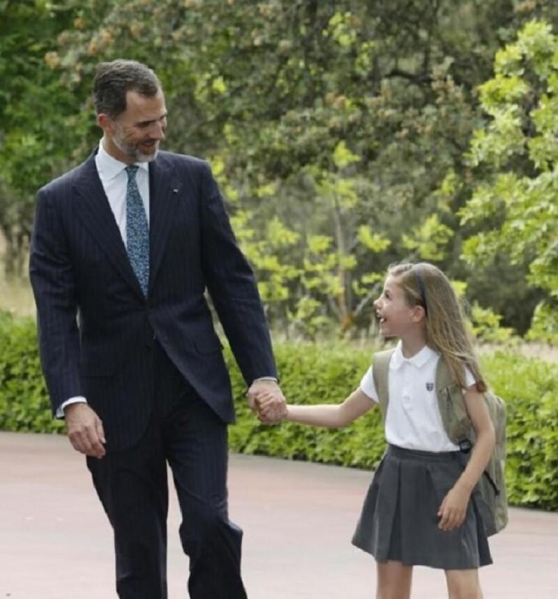 Sin duda el rey de España se ha posicionado como uno de los padres de la realeza más afectivos.